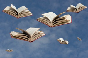 Image result for books with wings