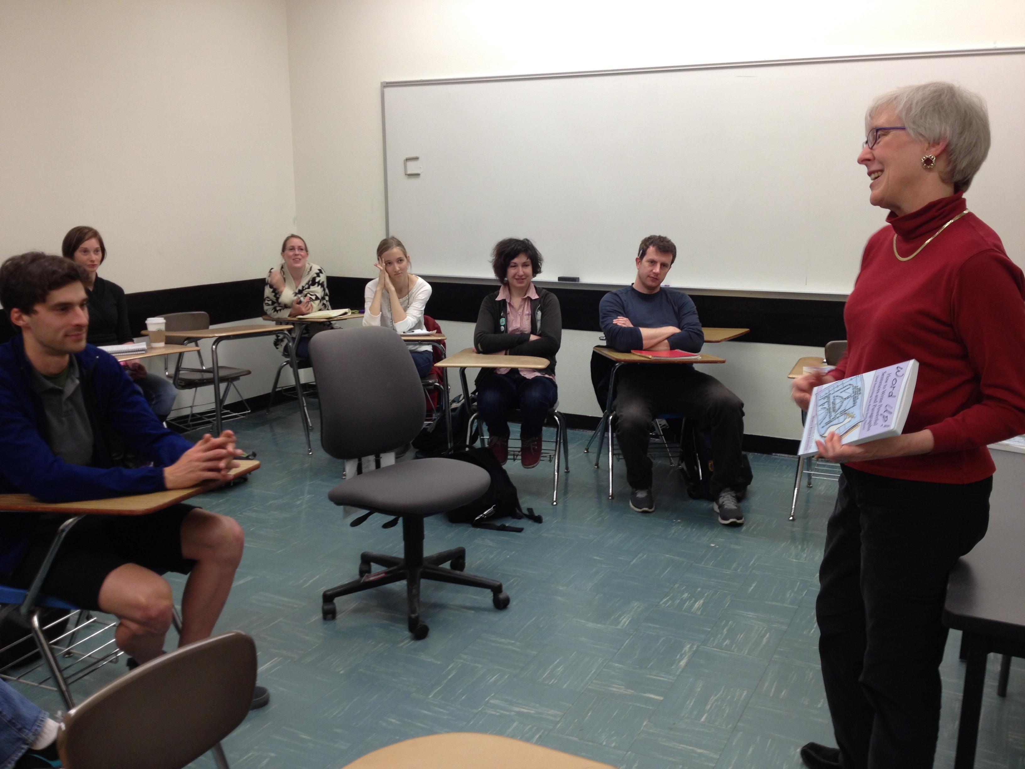 Portland State University class visit
