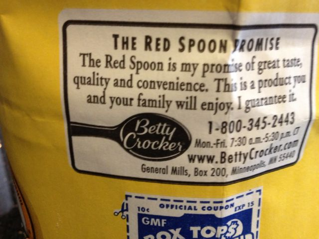 Red Spoon Promise