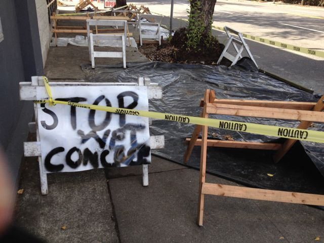 Stop Wet Concrete