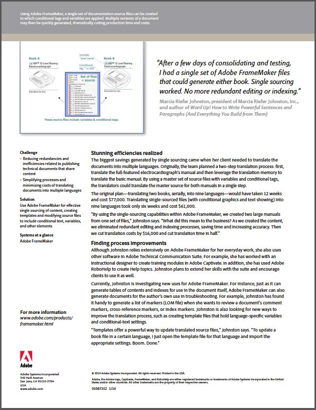 Adobe case study