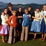 Marcia Riefer Johnston with her host family in Austria in 1975