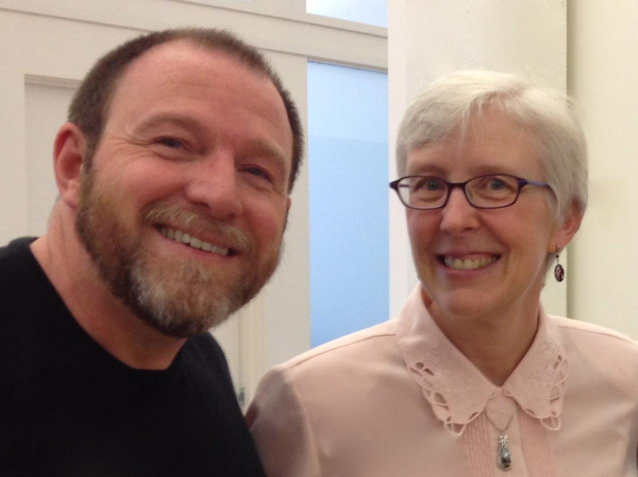 Scott and Marcia