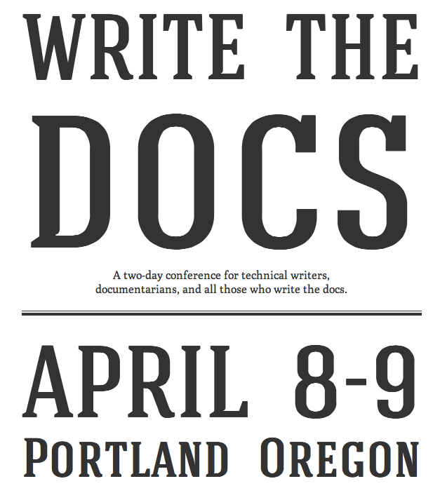 Write the Docs