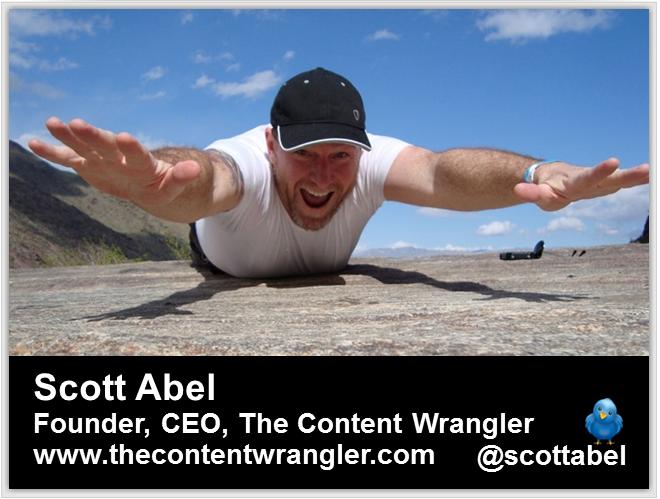 "Scott Abel: ""Language Matters"" (how to write)"