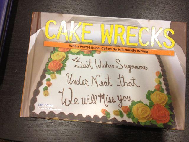 """Cake Wrecks"" book"