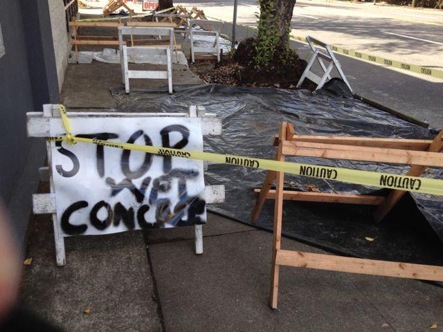 Stop Wet Concrete