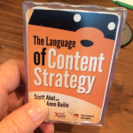Language of Content Strategy—how to write