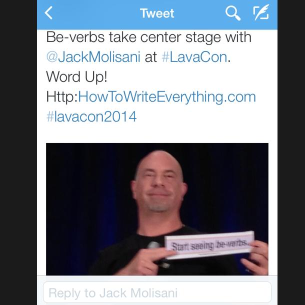 Jack Molisani w bumper sticker