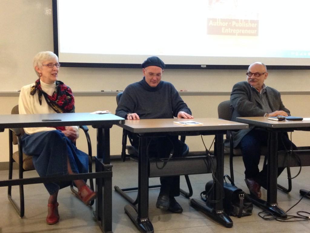 Marcia Riefer Johnston, Gary Lothian, Michael Powell